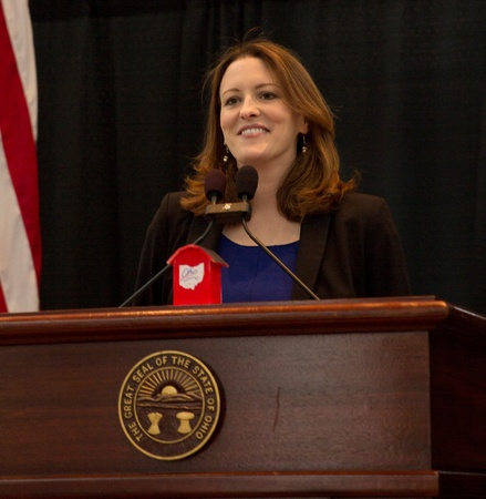 Marion Werkheiser Speaking At Statehood Day 2016
