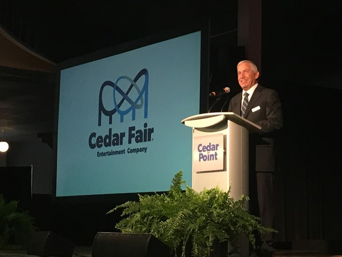Cedar Fair CEO Matt Ouimet Addresses Ohios General Assembly