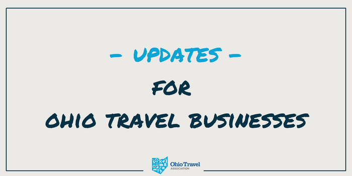 Update 10/01/21: Ohio's Travel Industry and the Coronavirus (COVID-19)