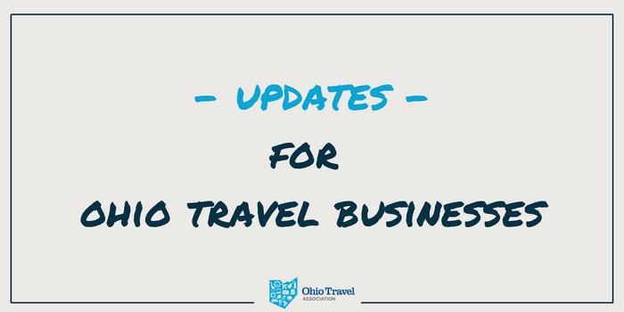 Update 10/15/21: Ohio's Travel Industry and the Coronavirus (COVID-19)